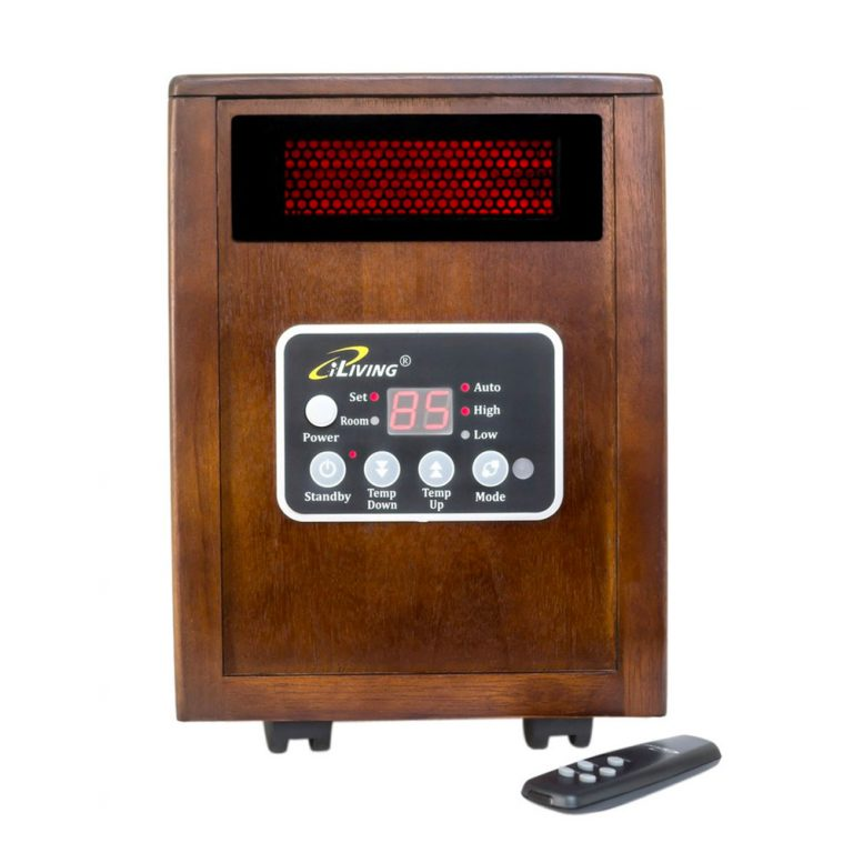 New iLIVING Infrared Portable Space Heater