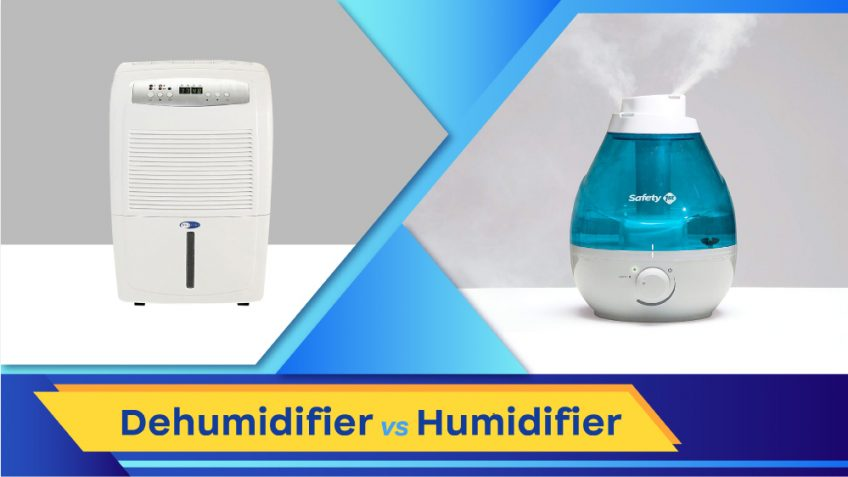 Dehumidifier vs Humidifier