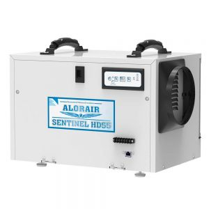 AlorAir Sentinel HD55 Basement/Crawl Space Dehumidifier