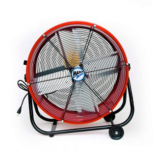 Maxx Air BF24TFREDUPS High Velocity Drum Fan