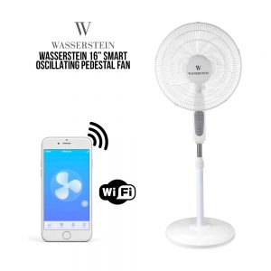Wasserstein Smart Oscillating Pedestal Fan